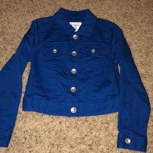 Justice blue jean jacket